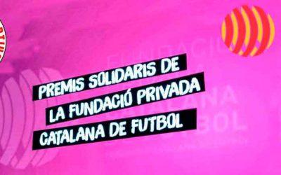 """II Premis Solidaris Fundació FCF,""""Premi Solidari Foment dels Valors"""""""